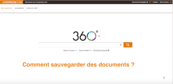 Comment sauvegarder des documents ?