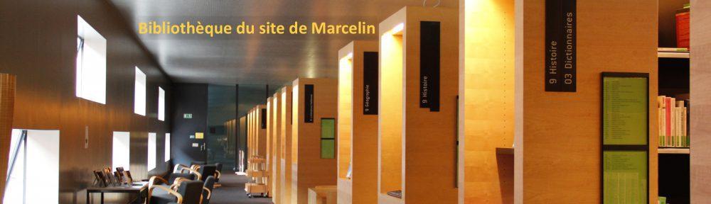 Bibliothèque du site de Marcelin