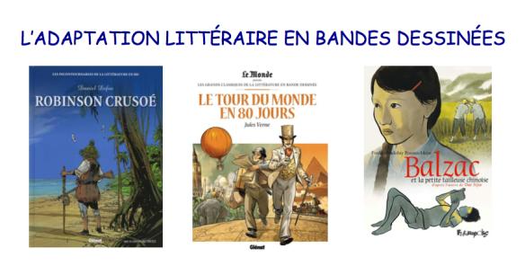 L_ADAPTATION LITTÉRAIRE EN BANDES DESSINÉES